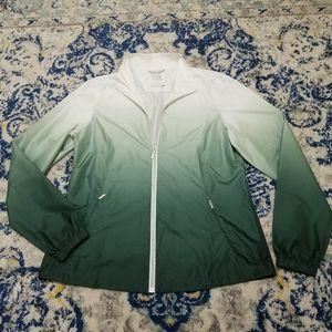Cutter & Buck Women's Ombre Green Full Zip Jacket